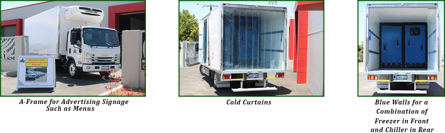 dcg refrigerated vans
